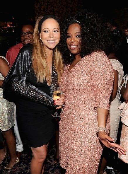 Mariah Carey, Oprah Winfrey