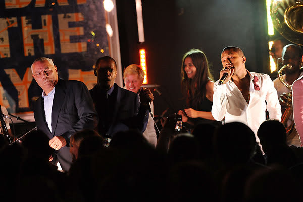 Colin Powell, Jamie Foxx, Ellen DeGeneres, Katie Holmes, Pharrell Williams