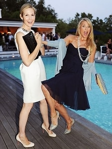 Kelly Rutherford, Christie Brinkley