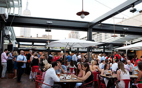 Nyc Rooftop Bars Our 2013 End Of Summer Drinking Guide