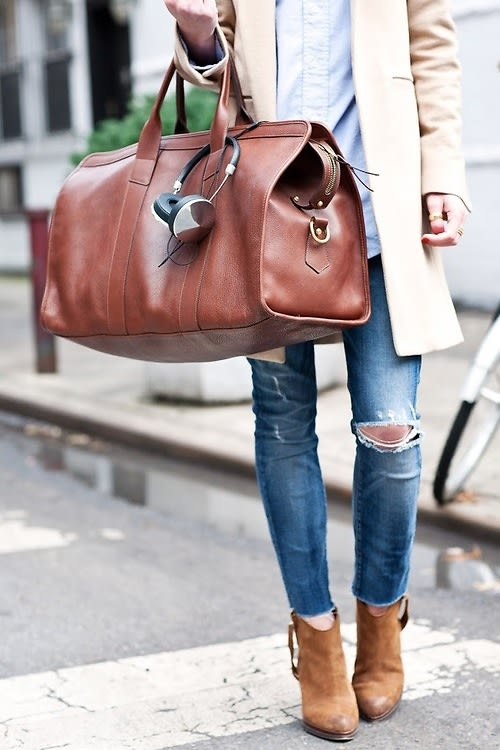 Travel Bag Street Style