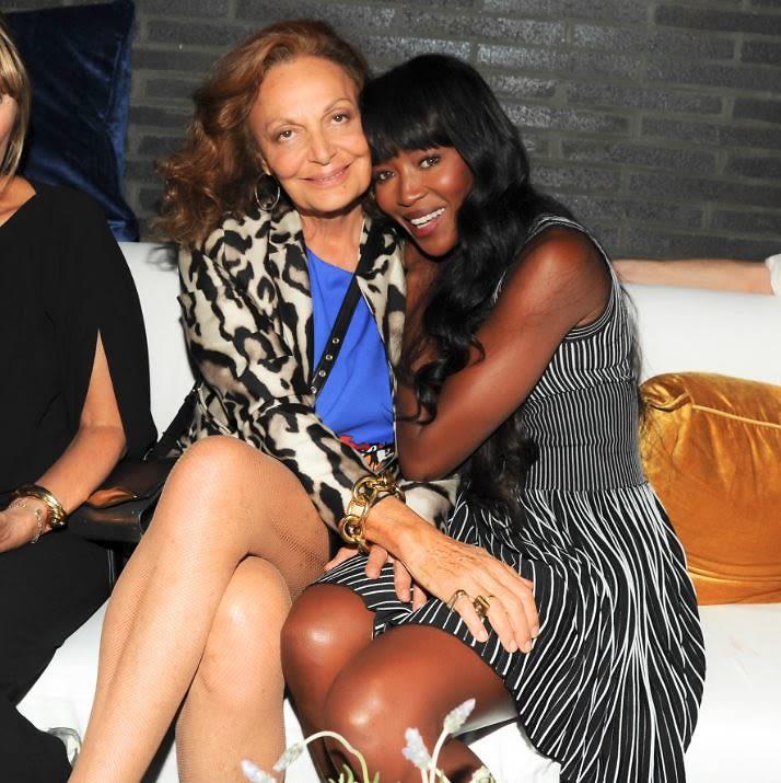Diane von Furstenberg, Naomi Campbell