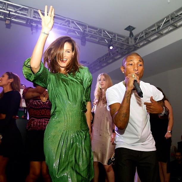 Hannelli Mustaparta, Pharrell Williams