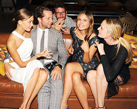 Karlie Kloss, Derek Blasberg, Dustin Yellin, Dasha Zhukova, Lauren Remington Platt