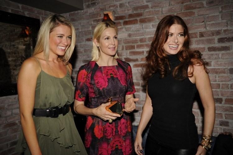 Katrina Bowden, Kelly Rutherford, Debra Messing