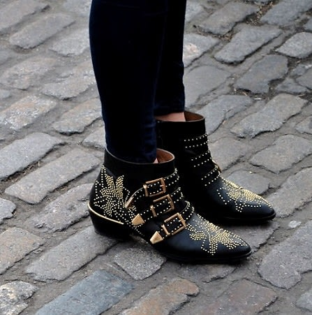 ankle boot street style