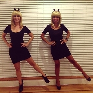 Dancing Girls Emoji Costume