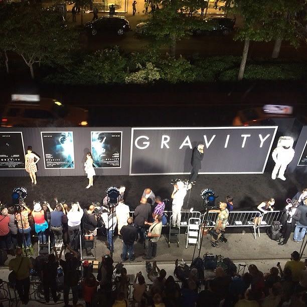 Gravity Premiere