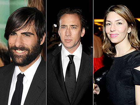 Jason Schwartzman, Nicolas Cage, Sofia Coppola