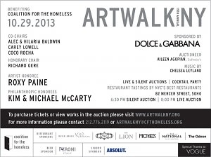 Dolce & Gabbana 19th Annual Artwalk NY