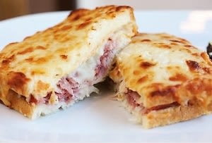 Bar Boulud's Croque Monsieur