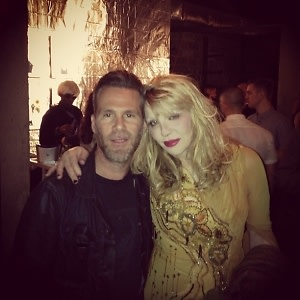 Scott Lipps, Courtney Love