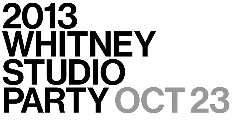 Whitney Studio Party 2013