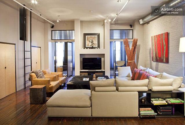 Jean-Michel Basquiat's loft