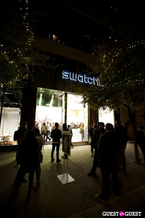 Swatch Austin Store Opening Celebration