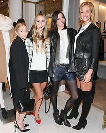 Ashley Olsen, Harley Viera-Newton, Ruby Aldridge, Erin Heatherton