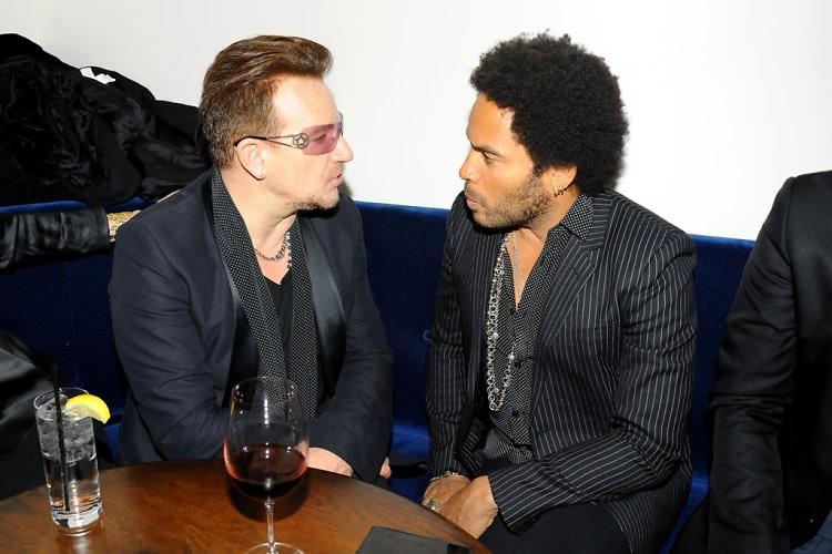 Bono, Lenny Kravitz