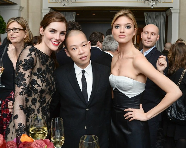 Hilary Rhoda, Jason Wu, Martha Hunt