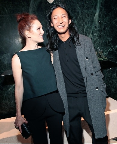 Julianne Moore, Alexander Wang