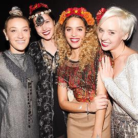 Mia Moretti, Liza Voloshin, Cleo Wade, Margot