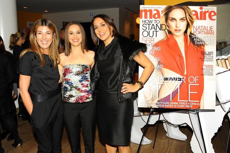 Nina Garcia, Natalie Portman, Anne Fulenwider