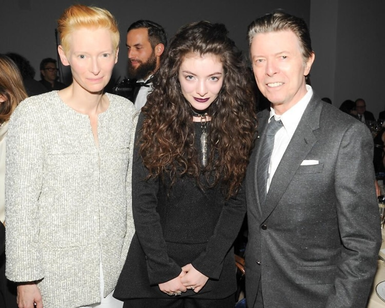 Tilda Swinton, Lorde, David Bowie