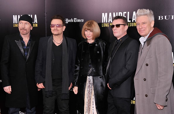 U2, Anna Wintour
