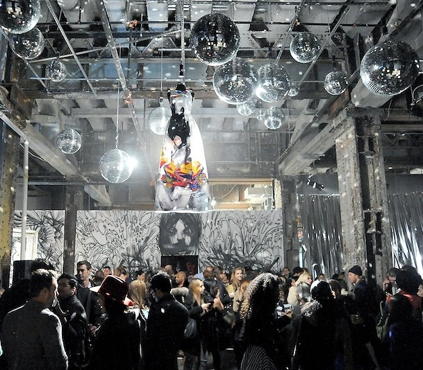 Alice + Olivia & David Choe Host Fashion Art and Disco Dancing