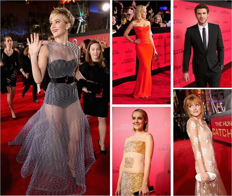 Catching Fire LA Premiere