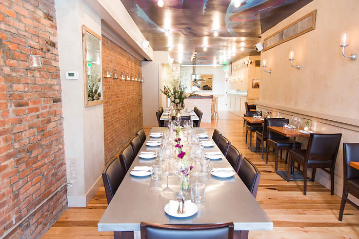 10 private dining spots to host your holiday party in nyc for Crave fish bar