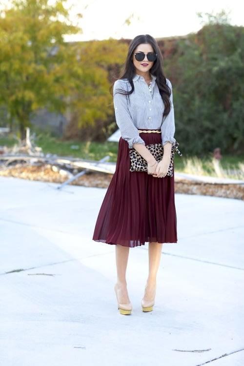Fall Midi Skirt