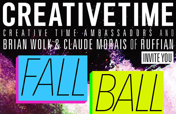 Creative Time Fall Ball