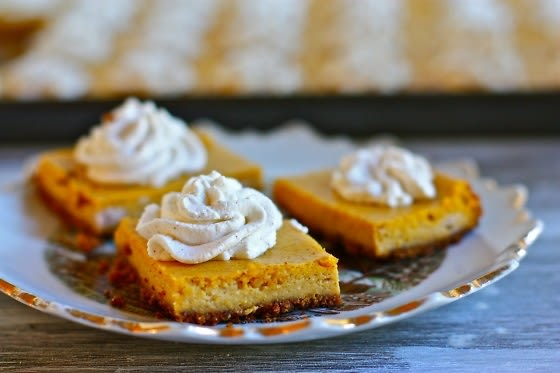Pumpkin Cheesecake Bites