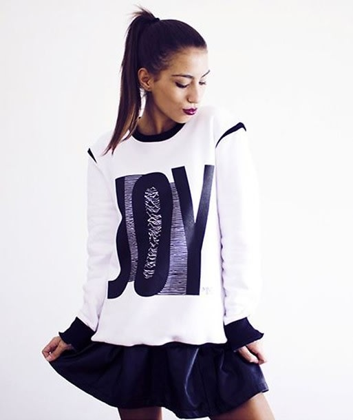 Street Style Graphic Sweater
