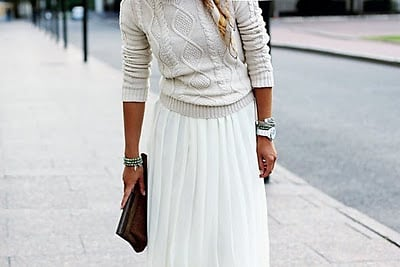 Winter White Trend