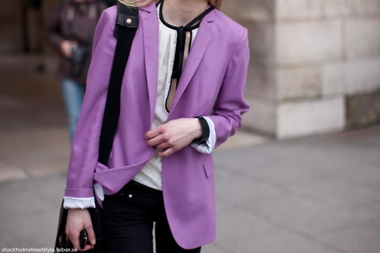 Purple Street Style