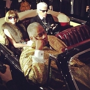 Anna Wintour, Karl Lagerfeld, Andre Leon Talley