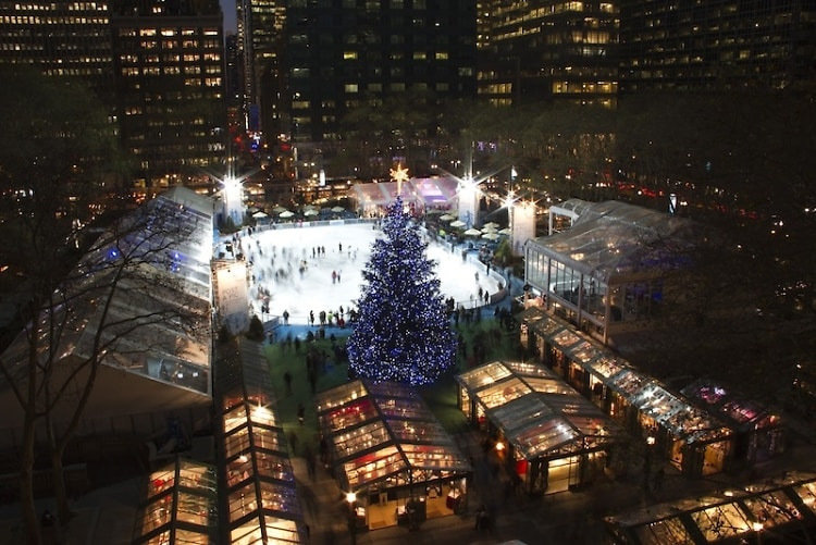 Citi Pond at Bryant Park