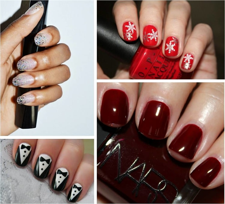 Because Your Nails Want To Party: 10 Holiday Season Mani Ideas