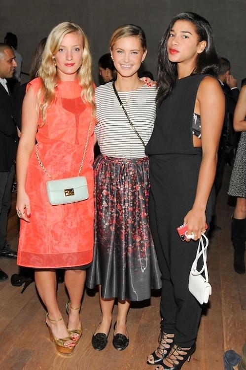 Kate Foley, Kylie Kuhn, Hannah Bronfman