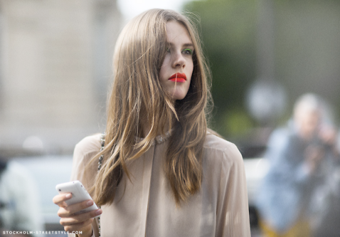 Red Lip Trend