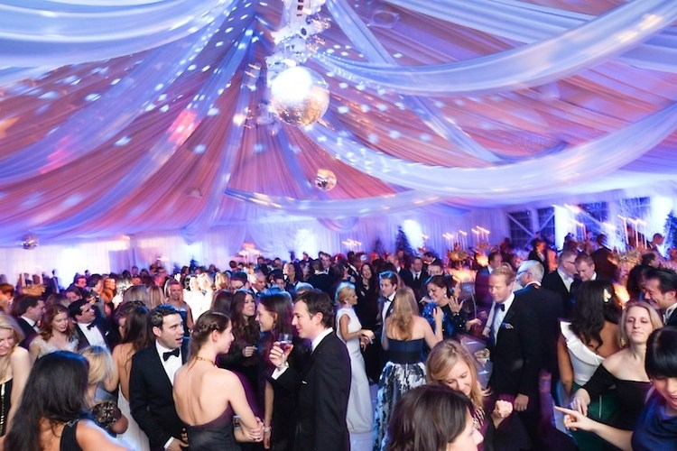 New York Botanical Garden Winter Wonderland Ball