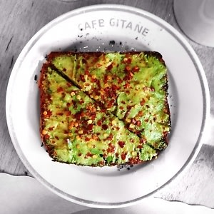 Cafe Gitane Avocado Toast