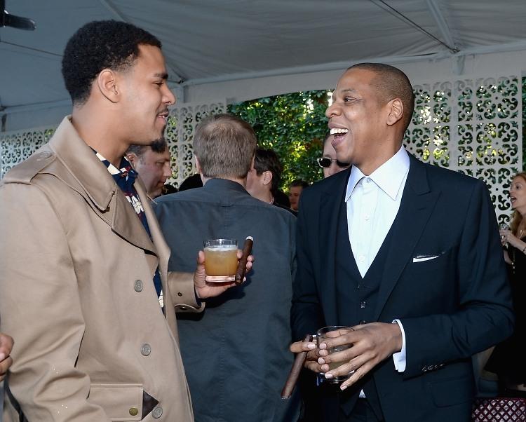 J Cole 2014 Grammy 2014 Pre-Grammy Partie...