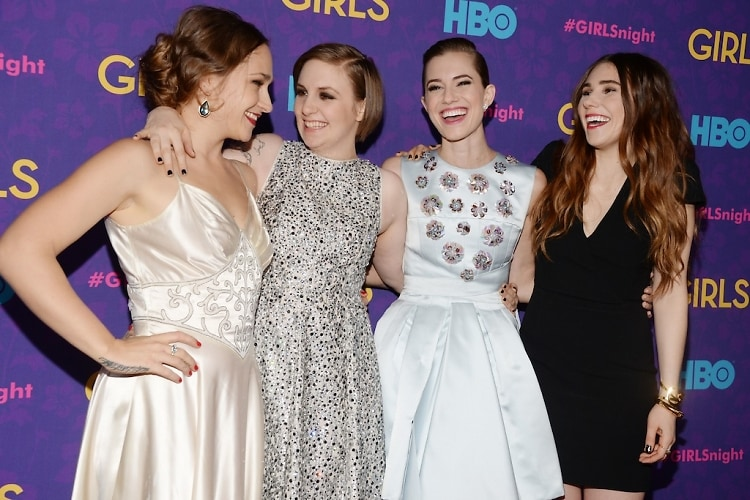 Jemima Kirke, Lena Dunham, Allison Williams, Zosia Mamet