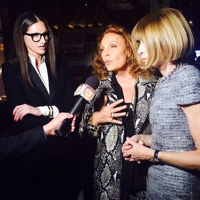 Jenna Lyons, Diane von Furstenberg, Anna Wintour