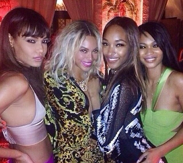 Joan Smalls, Beyonce, Jourdan Dunn, Chanel Iman