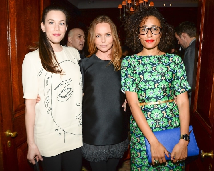 Liv Tyler, Stella McCartney, Zadie Smith