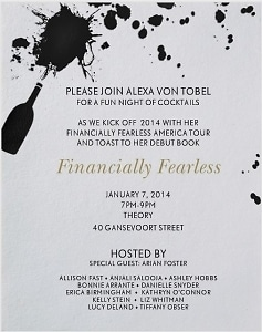 Financially Fearless Debut with Alexa Von Tobel