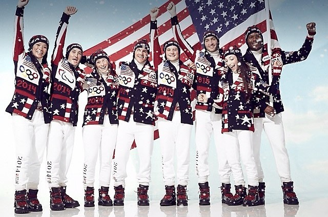 USA 2014 Winter Olympic Team